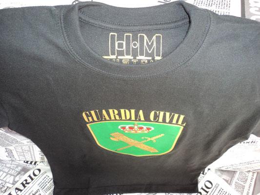 Camiseta Guardia Civil (Vista picado)