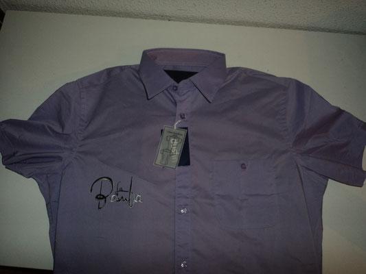 Camisa para La Bamba (Frente) logo negro y plata