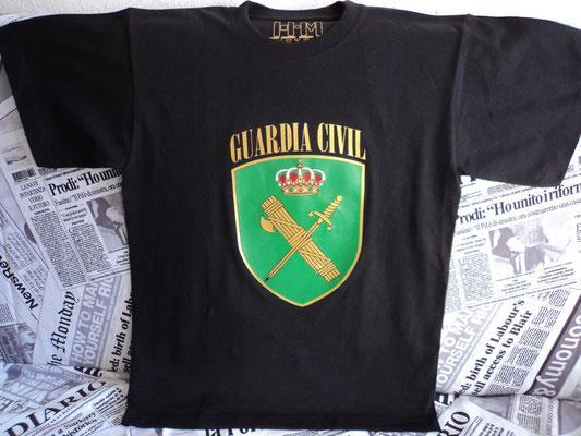 Camiseta para particular Guardia Civil