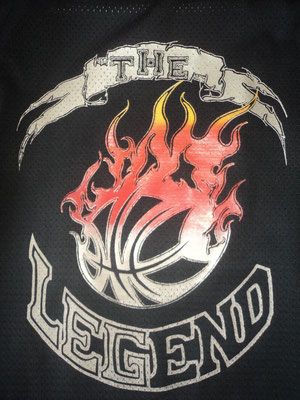 Camiseta de baloncesto para particular (Diseño propio)