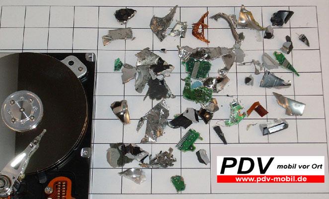 Festplatten Vernichtung   (H)