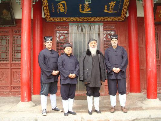 Zu Besuch bei Ren Farong dem Vorsitzenden der daoistischen Gesellschaft China