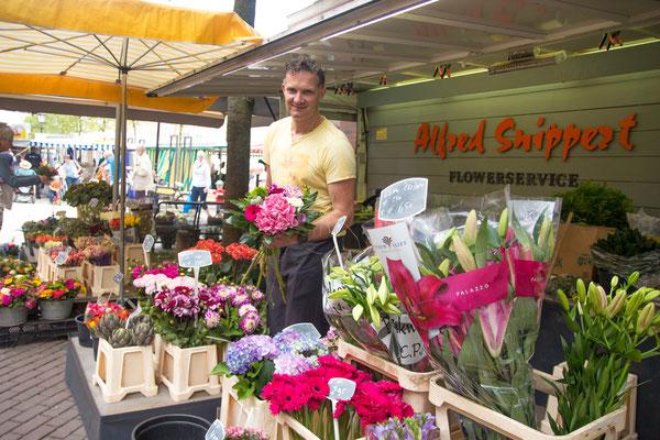 Flowerservice: Bei Alfred Snippert gibt es eine große Auswahl an frischen Blumen.