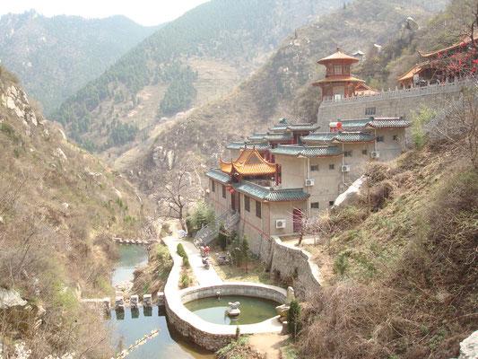 Der Jin xian Guan Tempel in den Zhong Nan Bergen