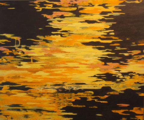 """""""Vom Dunklen, vom Hellen 4""""   100 x 120 cm  Acrylfarbe auf Leinwand"""