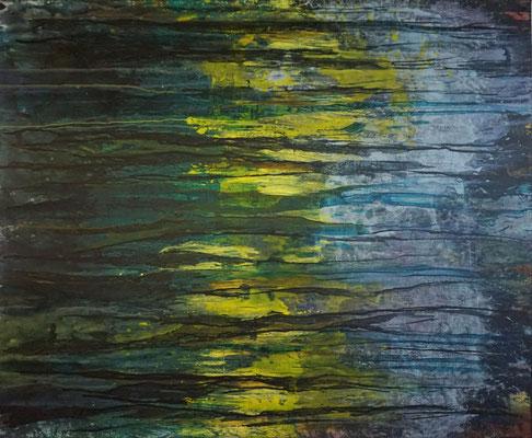 """""""Vom Hellen, vom Dunklen 6""""     120 x 160 cm   Acryl auf Leinwand"""