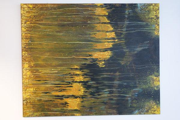 """""""Vom Dunklen, vom Hellen 5""""  120 x 160 cm  Acrylfarbe auf Leinwand"""