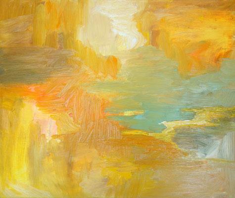 2019  Genesis  Öl auf Baumwolle  50 x 60 cm