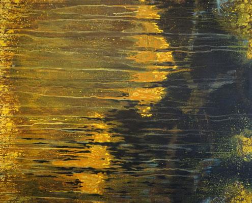 """""""Vom Hellen, vom Dunklen 5""""     120 x 160 cm   Acryl auf Leinwand"""