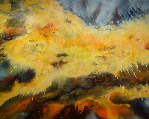 Sola Gratia   200 x 250 cm 2-teilig