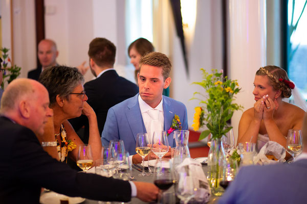 Diner trouwen Marienhof
