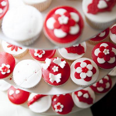 Cupcakes trouwen