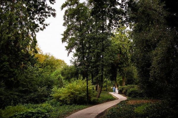 Trouwfoto's park Randenbroek