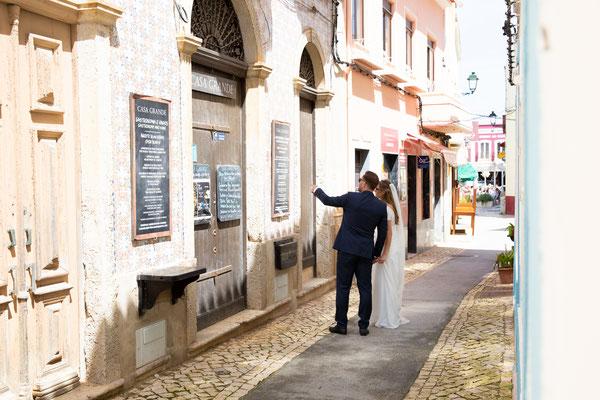 Trouwfoto's Ferragudo Portugal