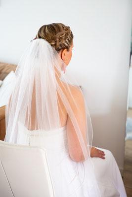 Trouwfoto's bruid