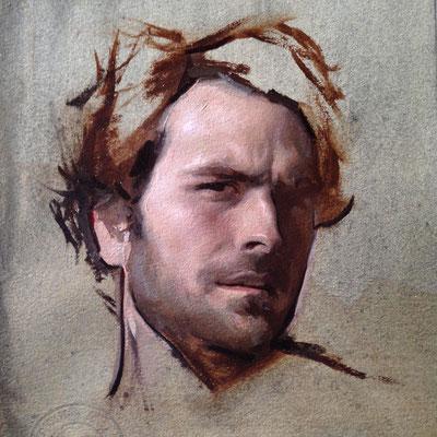self portrait by Jordan Sokol