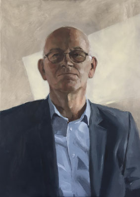 Henri, oil on linen 70x50cm by Philine van der Vegte SOLD