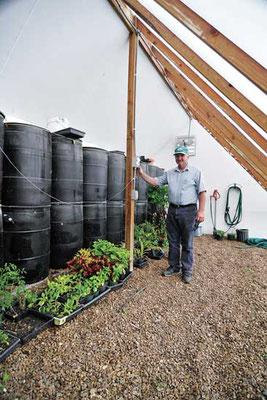 蓄熱材は大幅にスペースをとるが、低コストでメンテフリー。Photo by MU Cooperative Media Group/Steve Morse