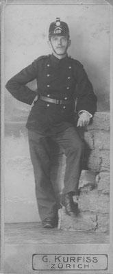 Adolf Fehr als Soldat