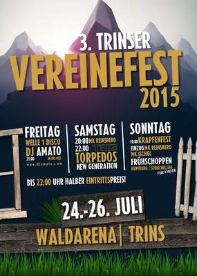 Programm -  3. Trinser Vereinefest