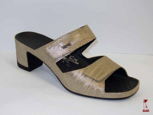 Chaussures de confort - Vital - Beige métal  - 108 €