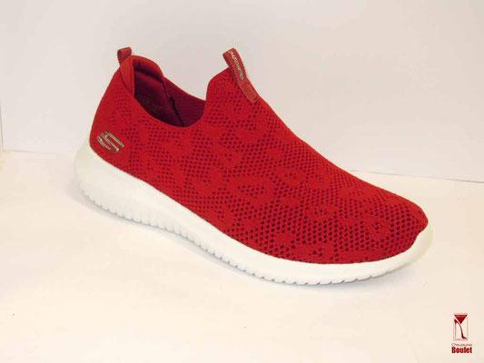 Baskets Sketchers - Rouge- 69.95 €