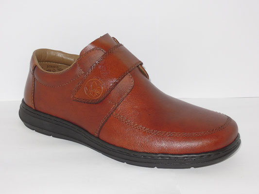 Chaussures de confort (XL) - Rieker - cuir cognac - 80€