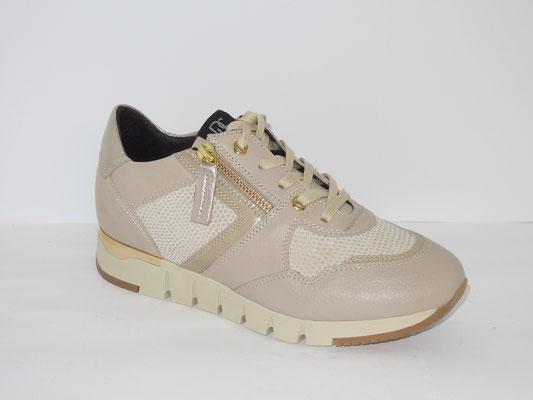 Sneaker - cuir vison+multimatières - 165€