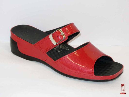 Chaussures de confort - Vital - Rouge vernis - 116 €