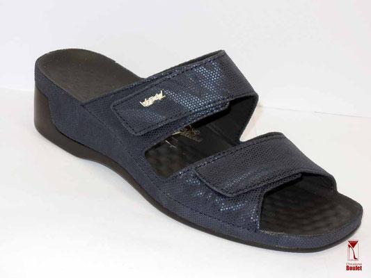 Chaussures de confort - Vital - Marine matière 108 €