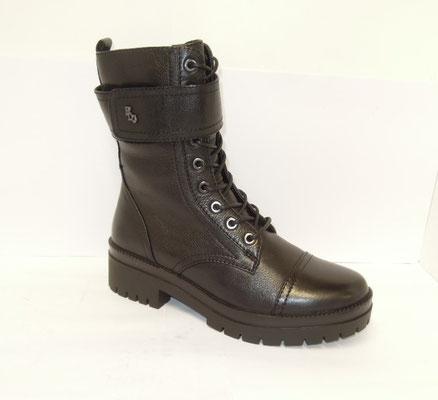 Regarde le Ciel - bottine+zip - cuir noir - 150€
