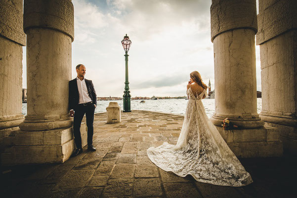venice elopement photos
