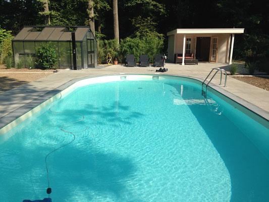 Oval-Pool 11,0 m x 5,0 m x 1,50 m
