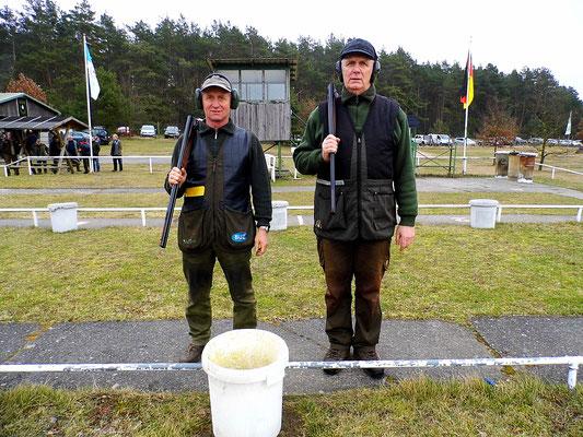 links Hans Jürgen Ulfig und rechts Gunther Greiff