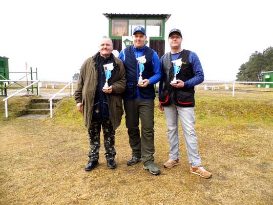 von links nach rechts: Andreas Pietz 2.Platz, René Hafenstein 1.Platz und Tino Fröhlich 3.Platz