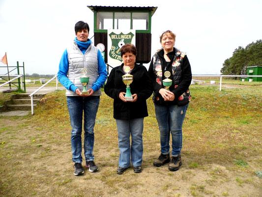 von links nach rechts: Silke Ristau, Ingeborg Zühlke und Carola Scherf