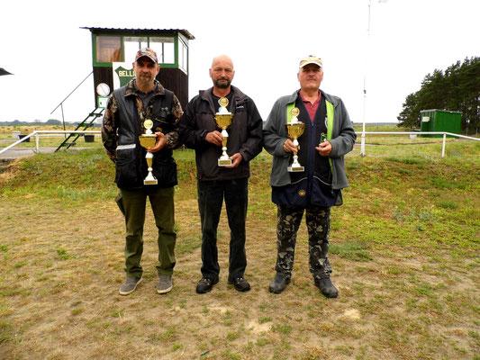 von links nach rechts: Kai Pankau 2.Platz, Stephan Klotzer 1.Platz und Andreas Pietz 3.Platz
