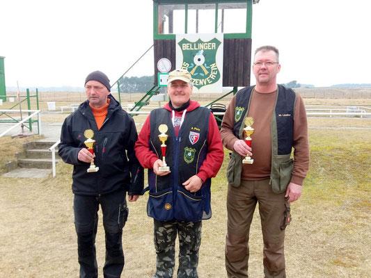 von links nach rechts: Stephan Klotzer, Andreas Pietz und Michael Lindner