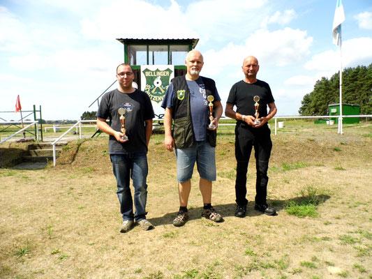 von links nach rechts: Sandro Schaffranke, Roberto Greiff und Stephan Klotzer