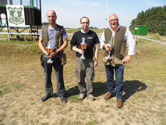 von links nach rechts: Markus Poch, Sandro Schaffranke und Karl-Heinz Böhmer