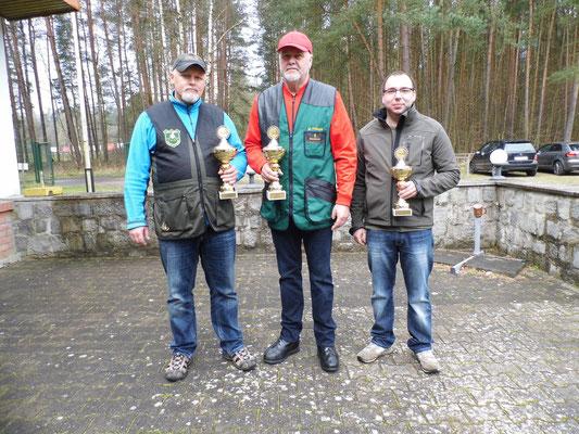 von links nach rechts: Roberto Greiff, Werner Fröhlich und Sandro Schaffranke