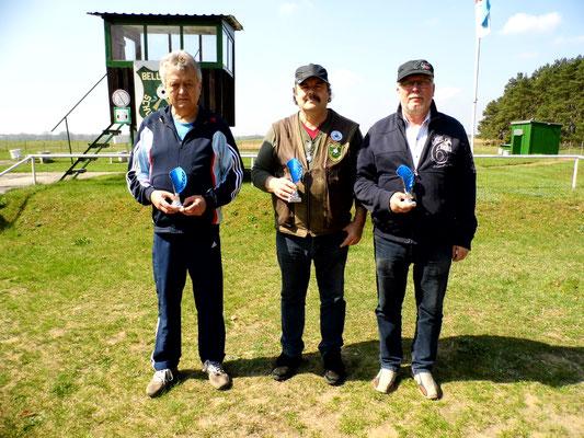 von links nach rechts: Rainer Klockow, Frank Hügelow und Frank Hoellge