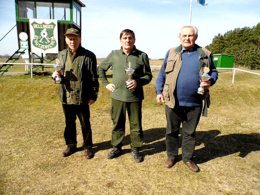 von links nach rechts: Jürgen Gottschlich, Bernd Dresler und Burkhard Kühl
