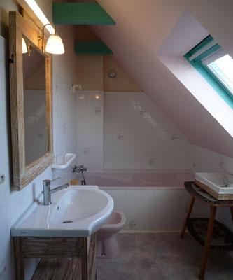 salle de bain avec wc, © Francis Le Bras