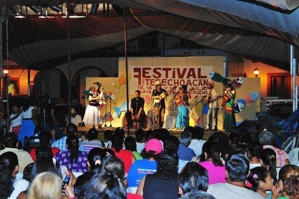 Festival del Rio del Tesechoacán, Playa Vicente; Veracruz, Mx.