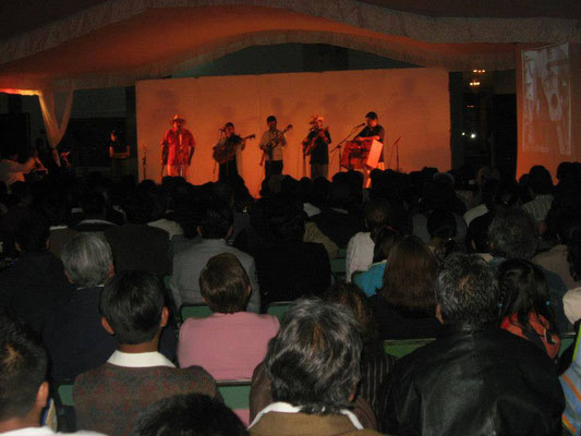 Concert of the first Cd Album
