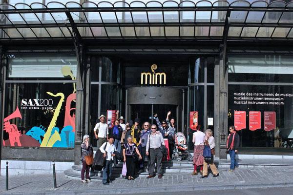 Museo de los Instrumentos Musicales MIM, Bruselas, Bélgica.