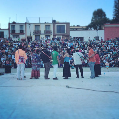 Plaza de la Danza, Oaxaca, Mx.