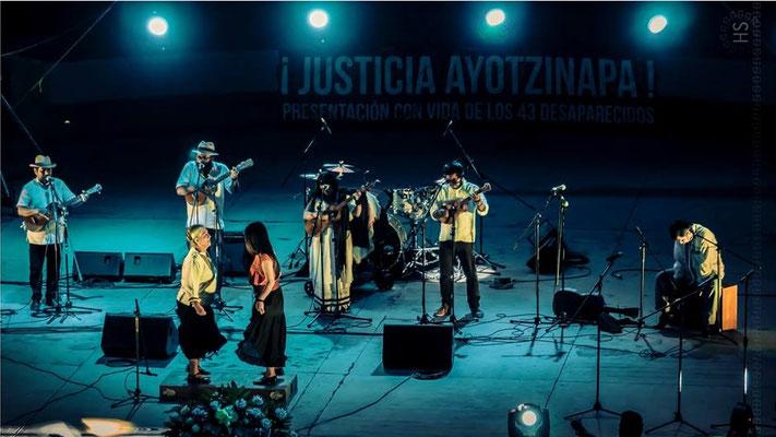 Voces por la Justicia, Auditorio Guelaguetza. Oaxaca, México.