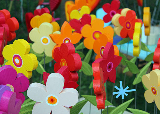 15 kleine Blumen